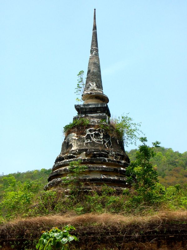 Wat Chedi Ngarm - スコータイ