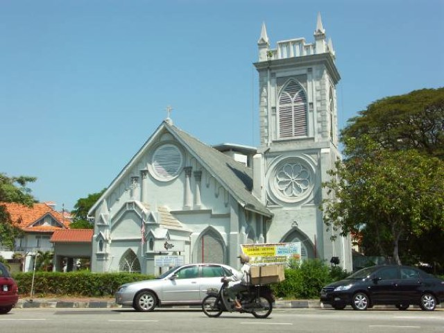 Wesley Methodist Church - ペナン島