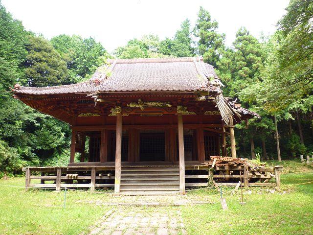 旧・善光寺 - 石岡