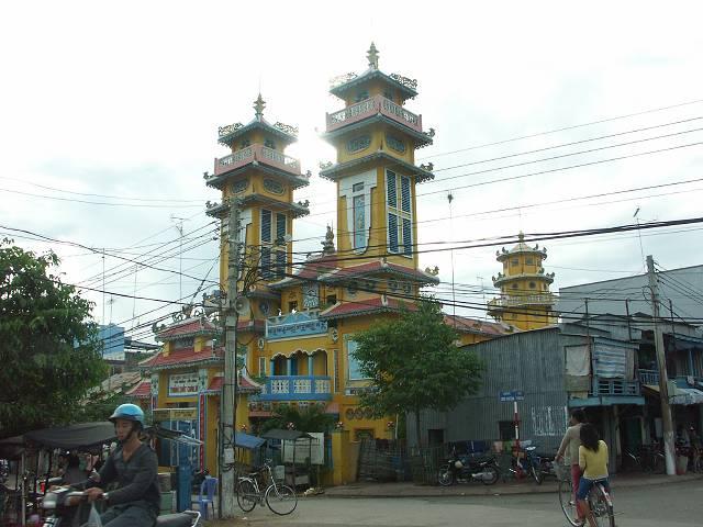 Cao Dai Temple - チャウドック