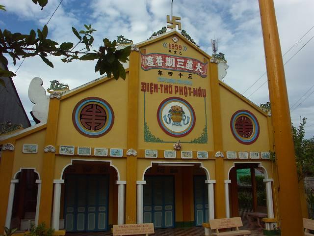 Buddhism Temple - チャウドック