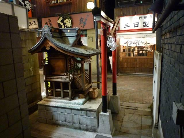 巌流稲荷社 - 田町