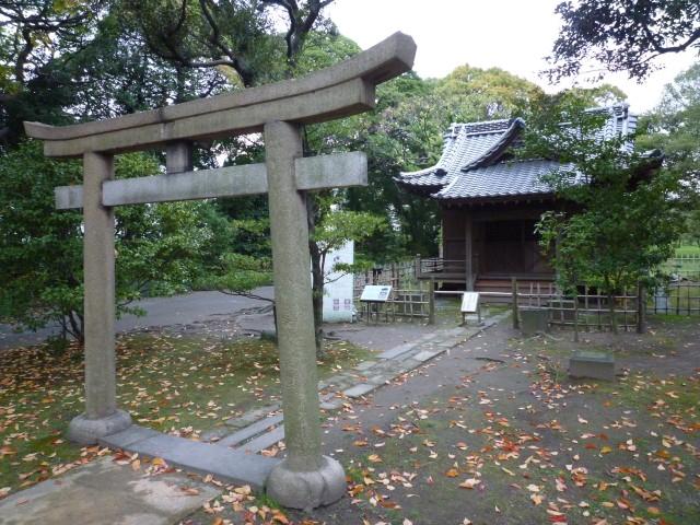 旧稲生神社 - 浜離宮
