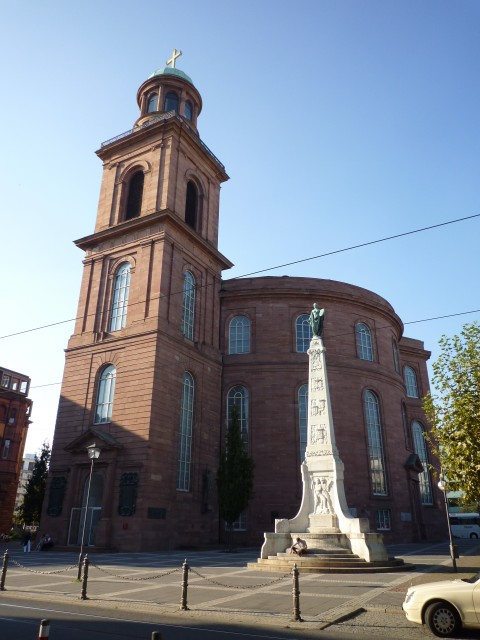 Paulskirche - フランクフルト