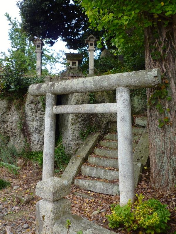 大谷の神社