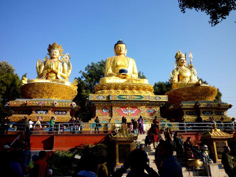 Bhudda Park - カトマンドゥ