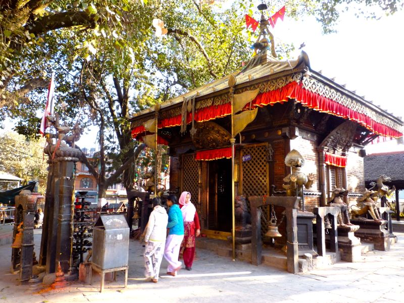Maiti Devi Temple - カトマンドゥ