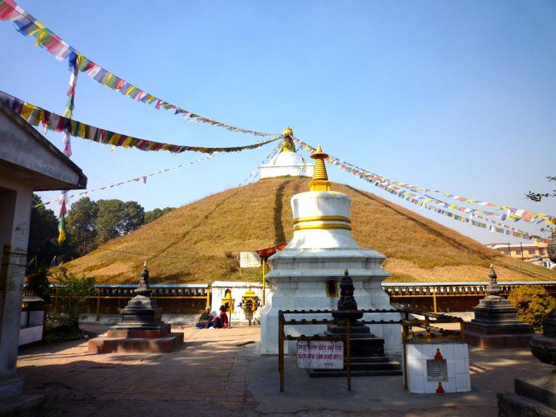 アショカ王の仏塔 - パタン南部