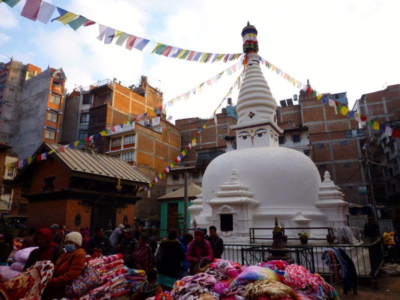 Mahabouddha Stupa - カトマンドゥ