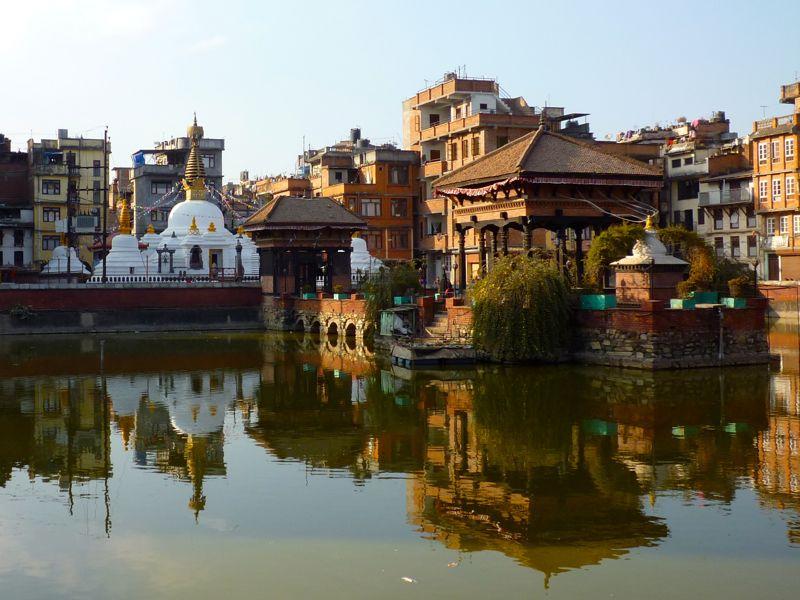 Pimbahal Pokhari temple - パタン