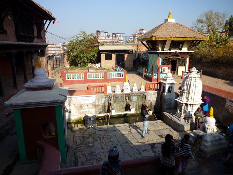 Ganesh Temple - パタン市街地北部