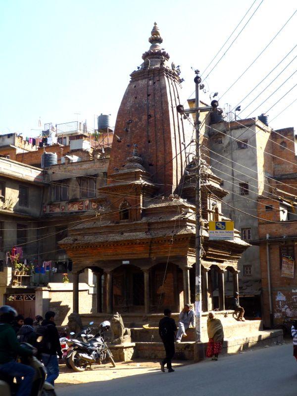 Uma Maheshwar Temple - パタン東部