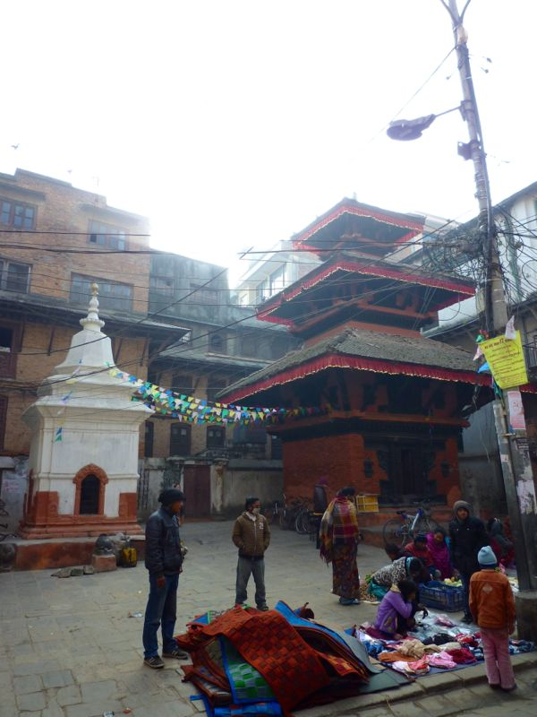 Narayan Temple near Durbar Square - カトマンドゥ