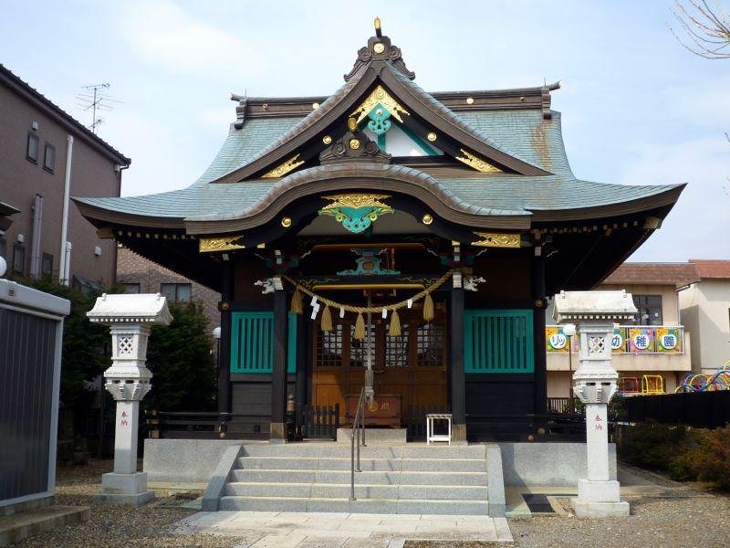 香取神社 - 取手
