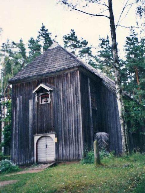 野外民族博物館内の教会 - リーガ