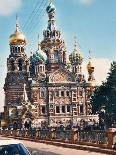 スパース・ナ・クラヴィー教会 - サンクトペテルブルク