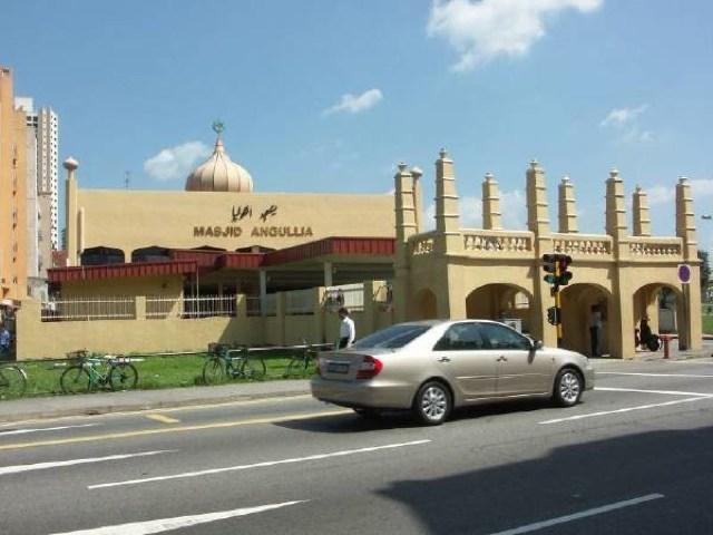 Masjid Angullia - シンガポール