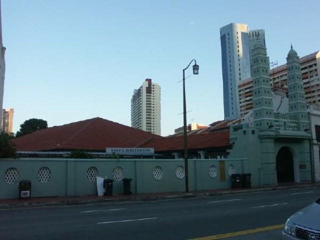 Jamae Mosque - シンガポール